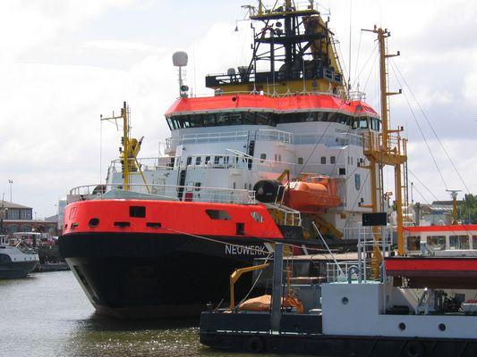 Kraftpaket oder auch Mehrzweckschiff
