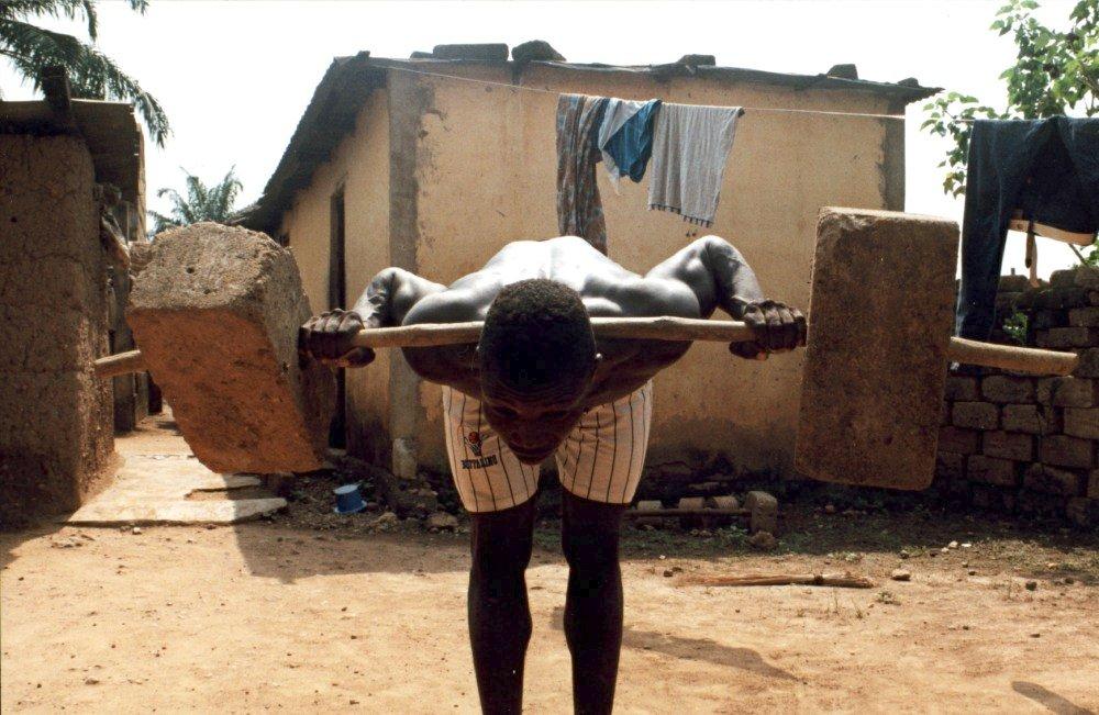 Krafttraining auf afrikanisch
