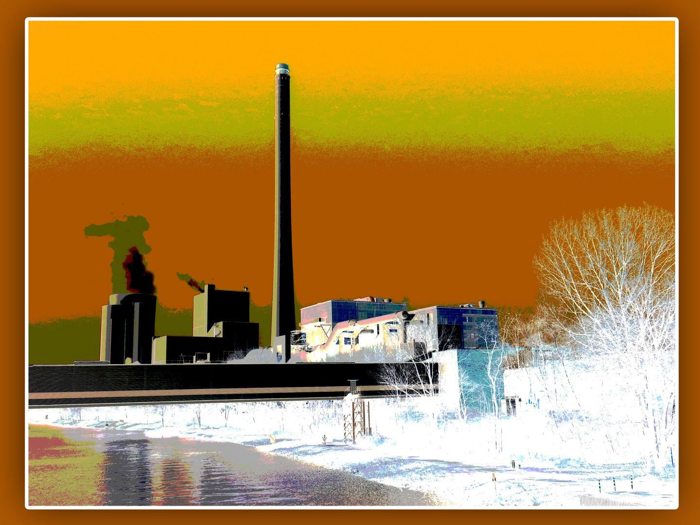 Kraftwerk am Kanal (II)