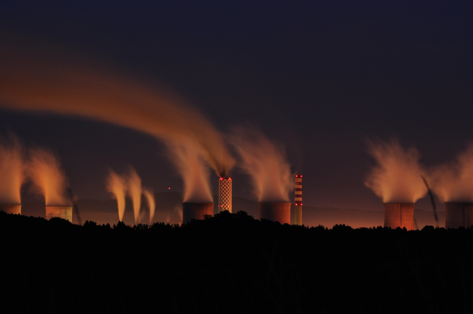 Kraftwerk Bogatynia / Polen