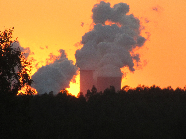 Kraftwerk Boxberg in Flammen