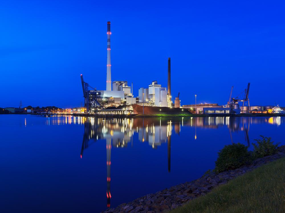 Kraftwerk Bremen Hafen