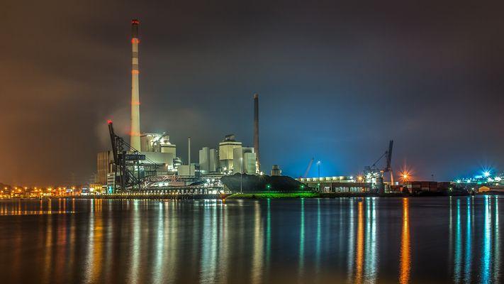 Kraftwerk Bremen-Hafen