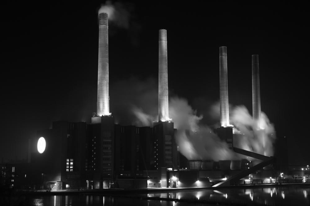 Kraftwerk der Volkswagen AG
