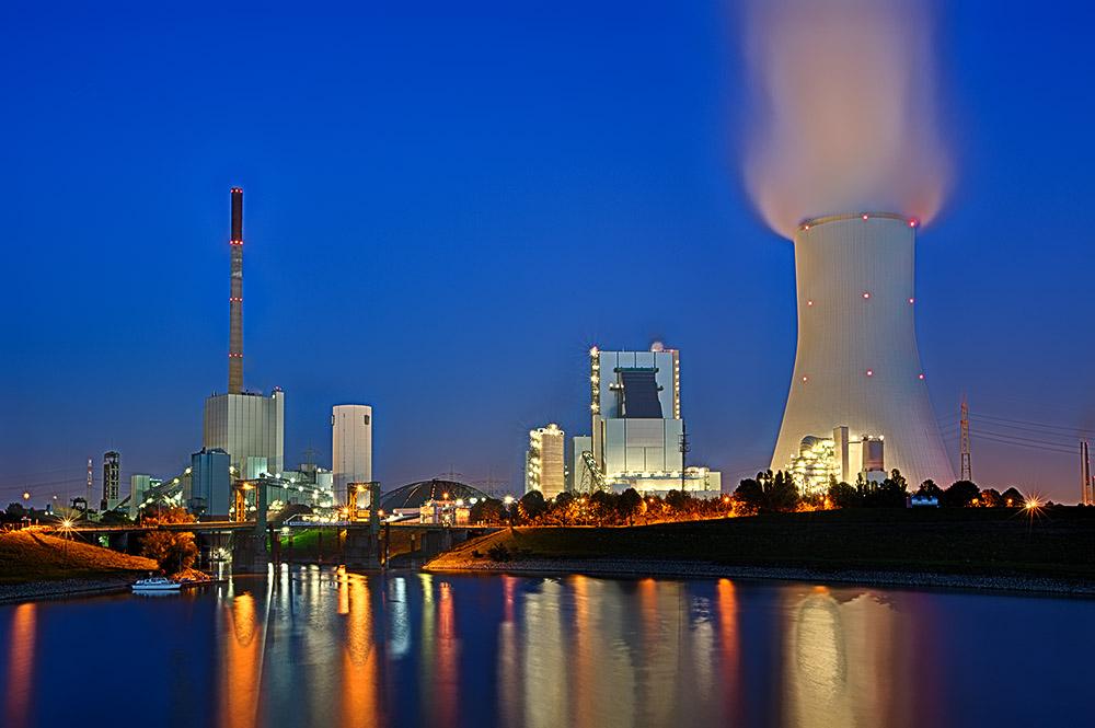 Kraftwerk Duisburg Walsum Foto Bild Industrie Und