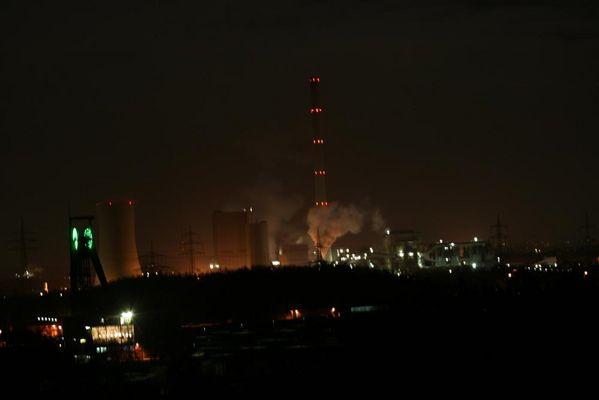 Kraftwerk Herne bei Nacht