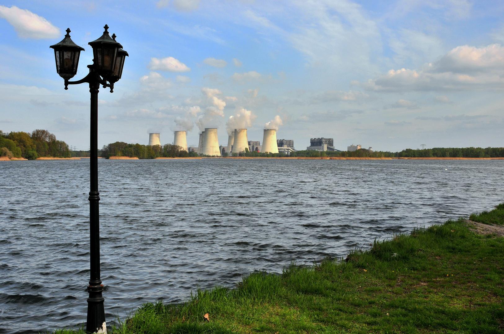 Kraftwerk in der Lausitz