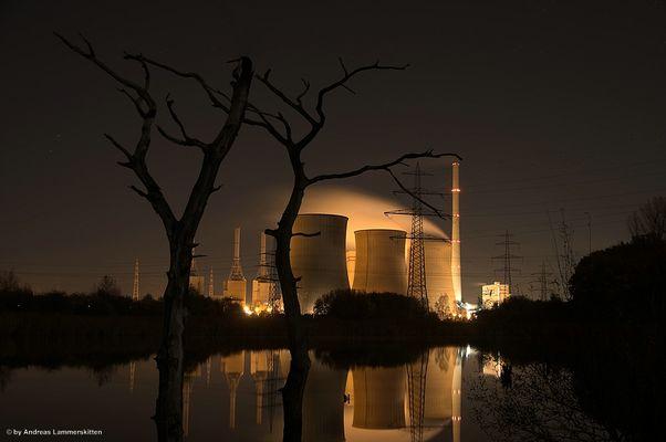 Kraftwerk in Hamm Werne (Gersteinwerk)