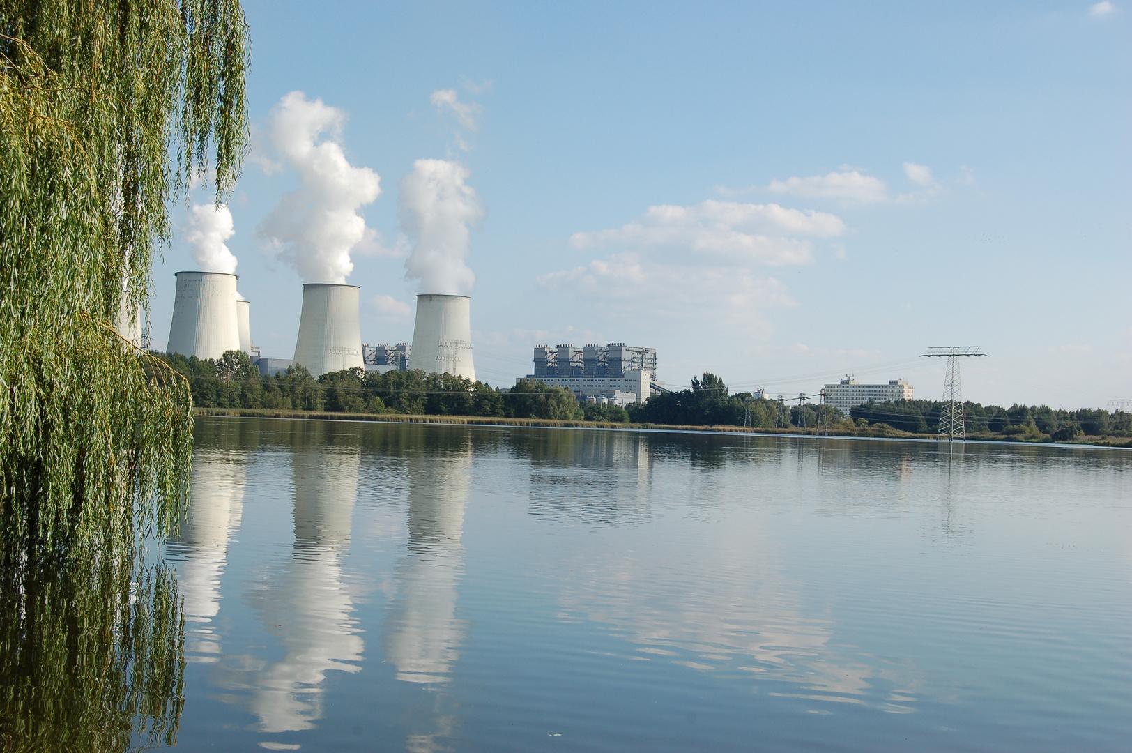 Kraftwerk Jänschwalde bei Peitz Ost