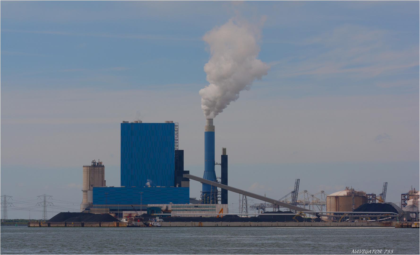 Kraftwerk, Maasvlkte, Rotterdam