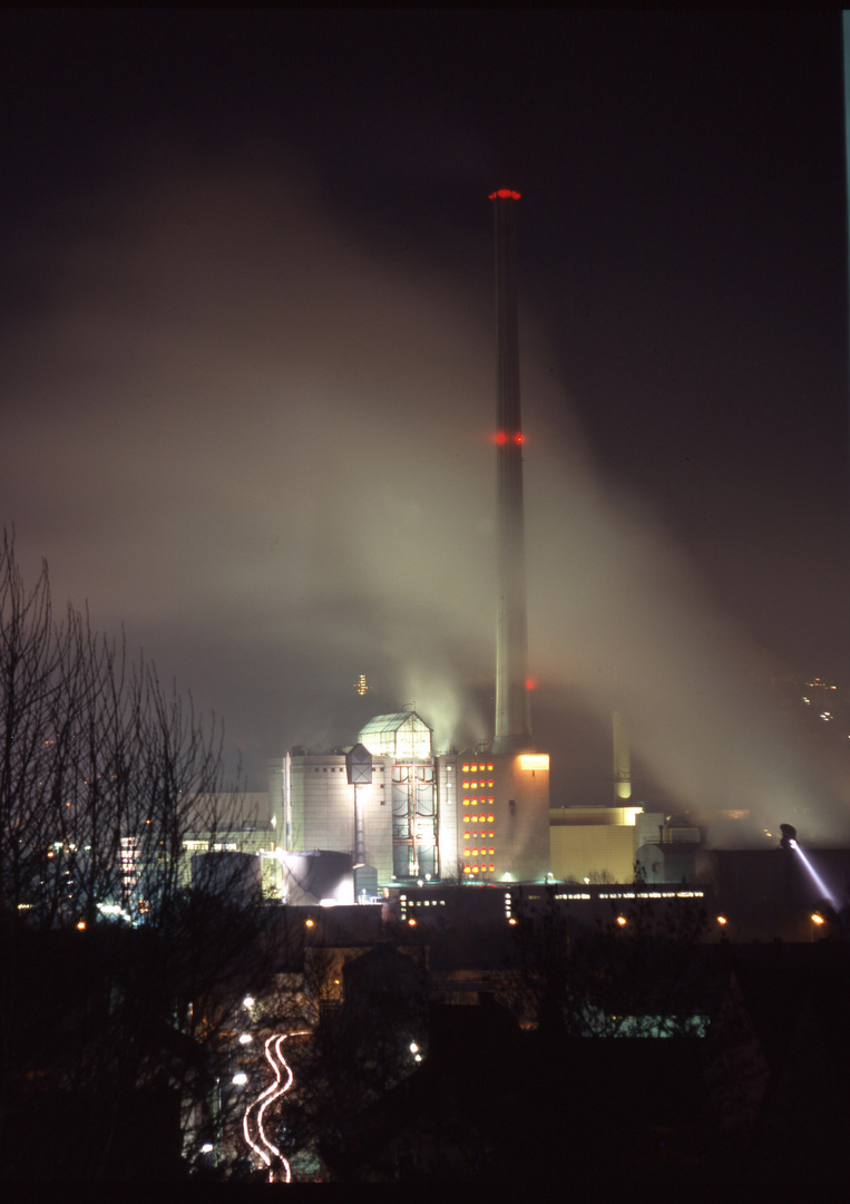 Kraftwerk, nachts