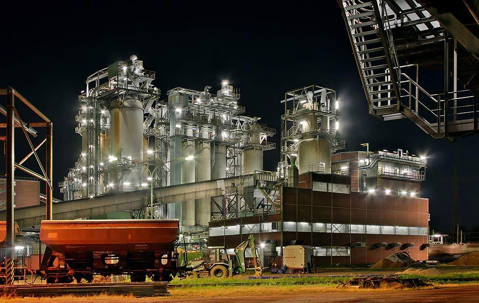 Kraftwerk Niederaußem Teilansicht