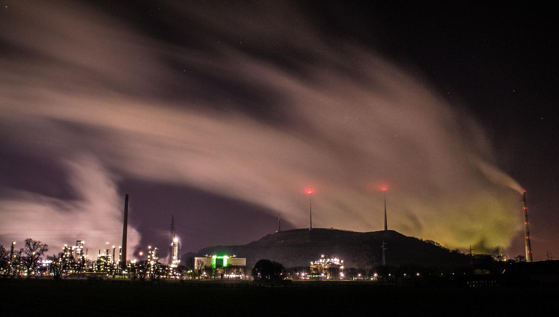 Kraftwerk Scholven by night