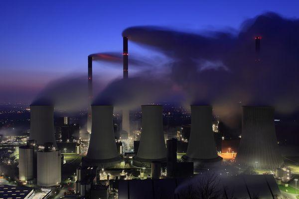 Kraftwerk Scholven - Übersicht
