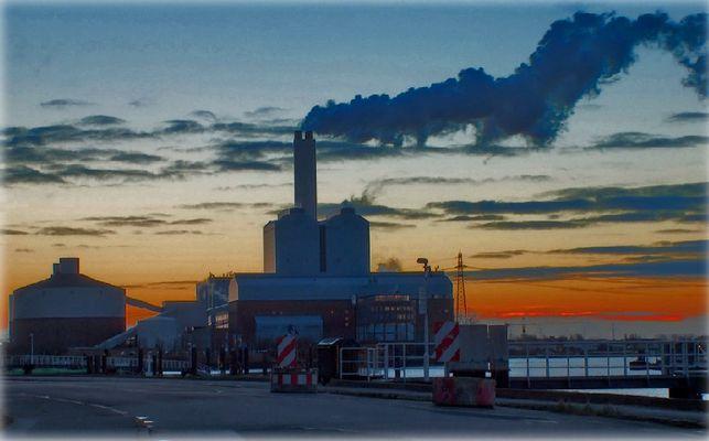 Kraftwerk Tiefstack in HH