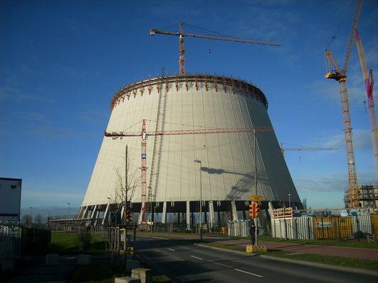 Kraftwerkbau in Duisburg Walsum