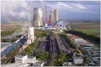 Kraftwerks-Landschaft  und BoA