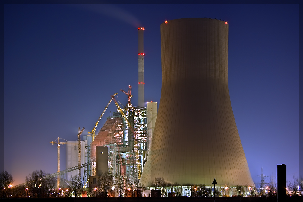 Kraftwerksbaustelle Walsum