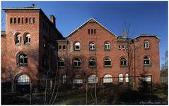 Kraftwerksruine - Außenansicht Vordergebäude
