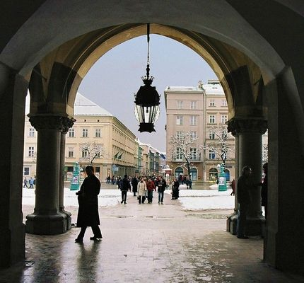 Krakow / der alte Markt