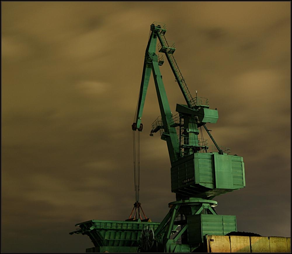 Kran im Godorfer Hafen