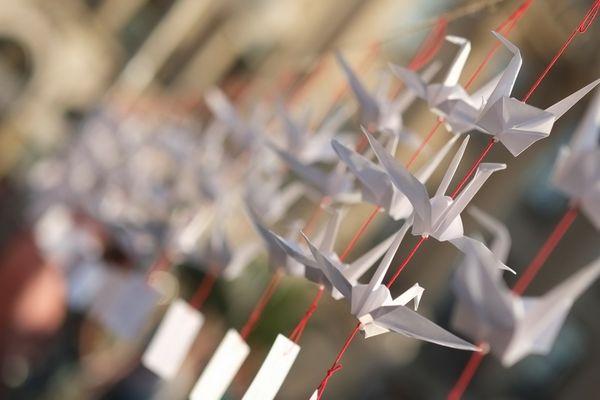 Kraniche für Hiroshima