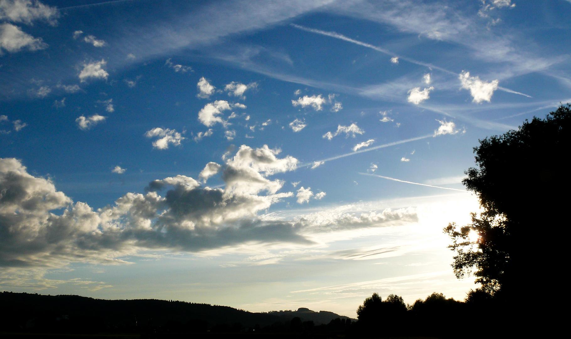 krasser himmel