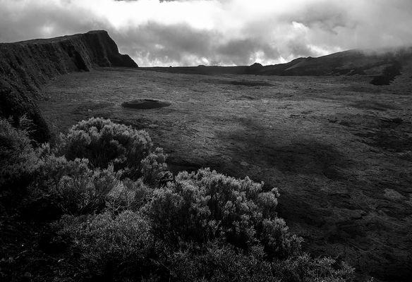 Krater auf La Réunion