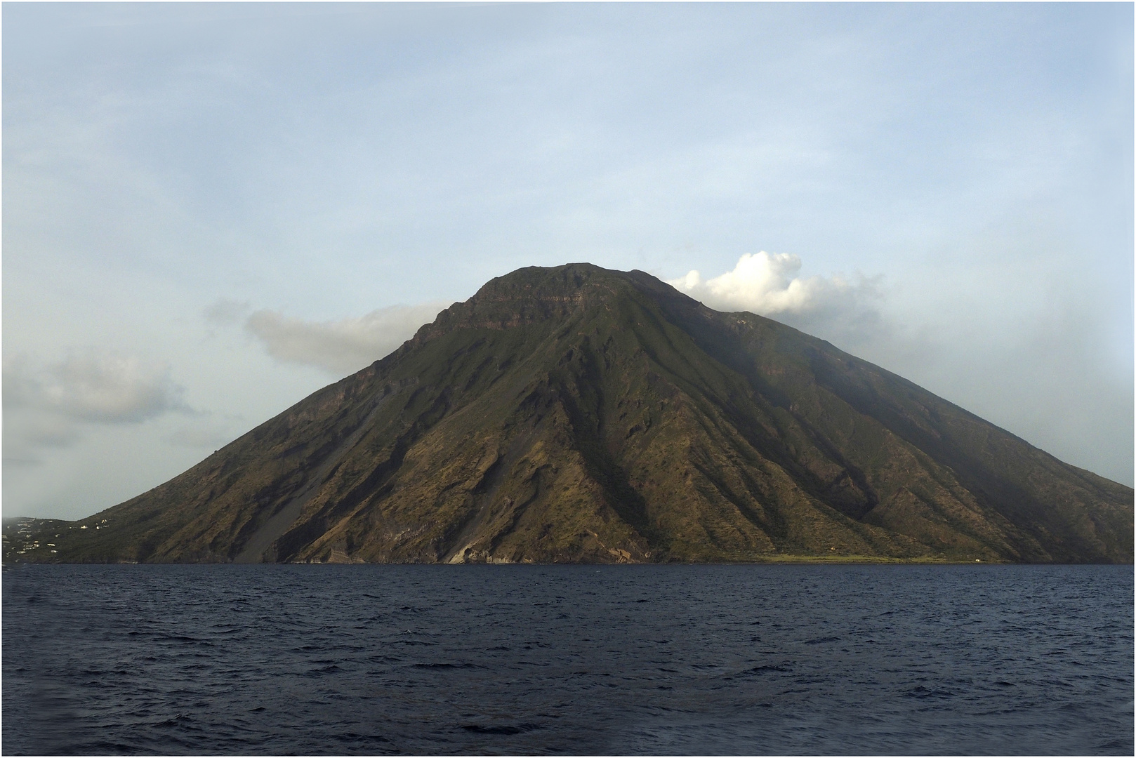 Krater auf Stromboli