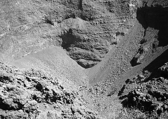 Krater des Vesuv (Neapel 99 #3)