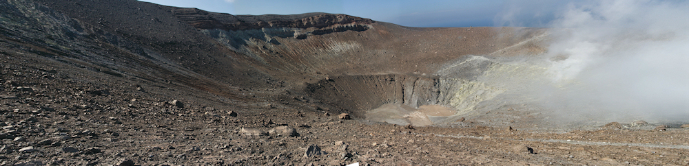 Krater des Vulcano
