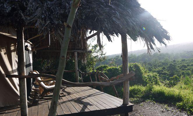 Krater forest Lodge im Ngorongoro Hochland