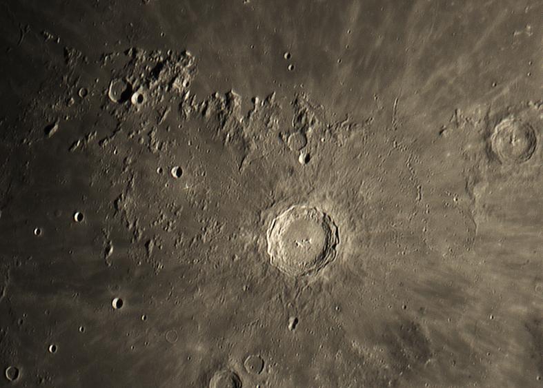 Krater Kopernikus Region