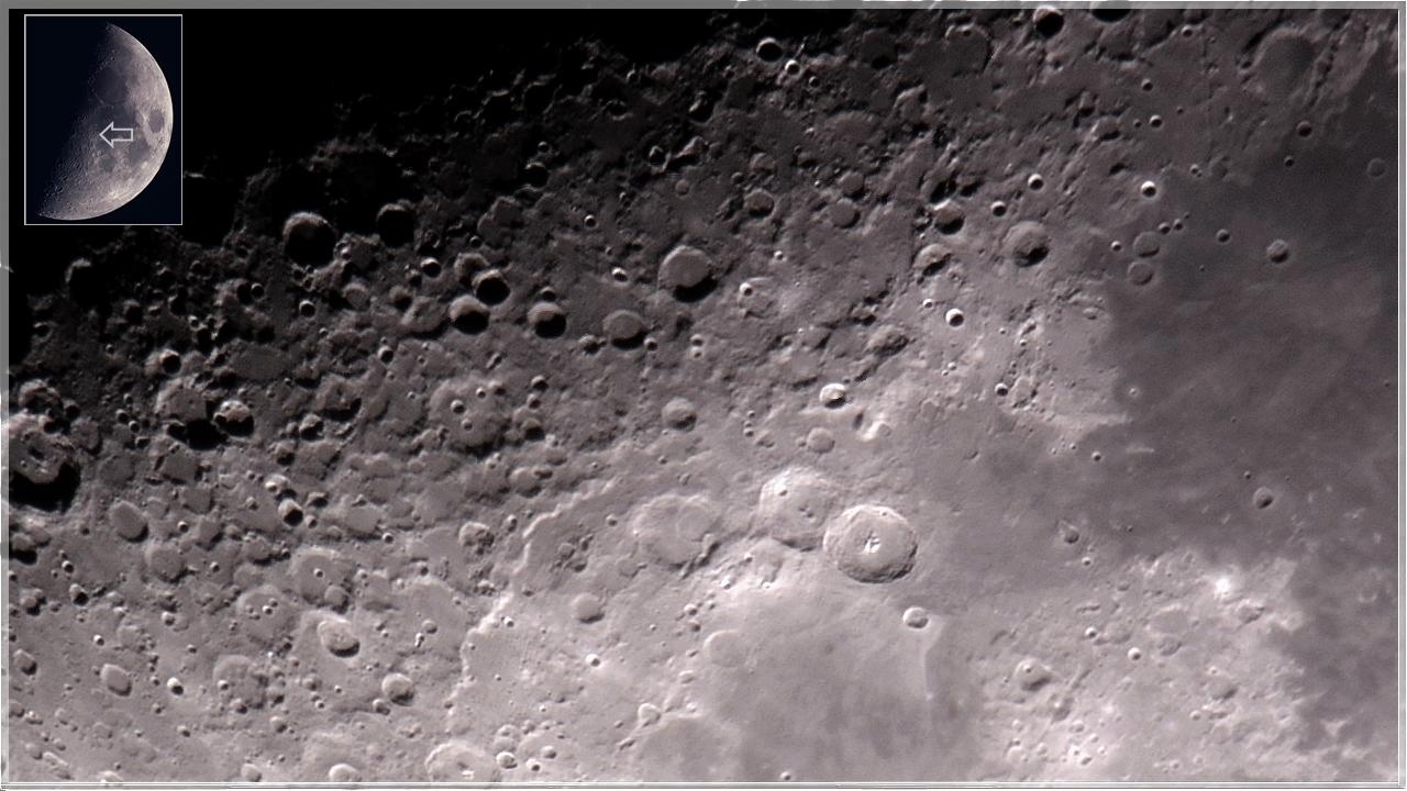 Krater Landschaft