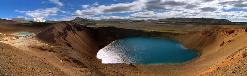 Krater Viti bei Krafla