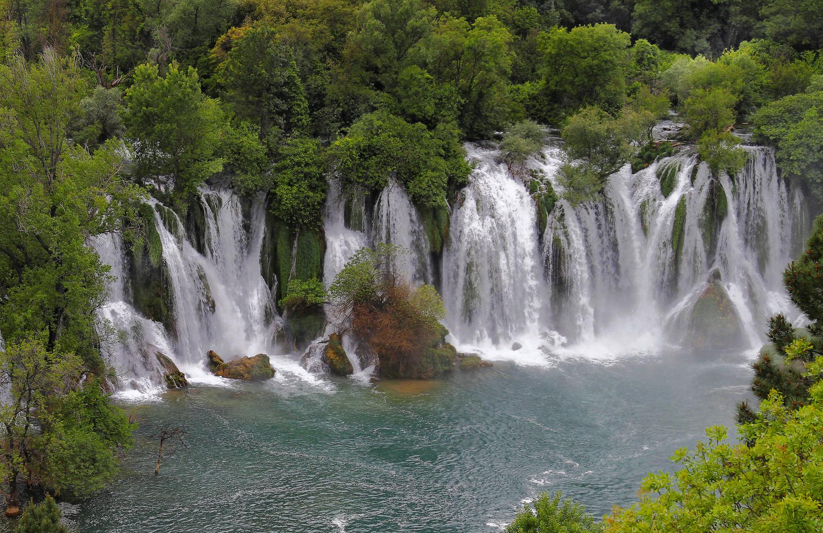 Kravica Wasserfall in Bosnien-Herzegowina