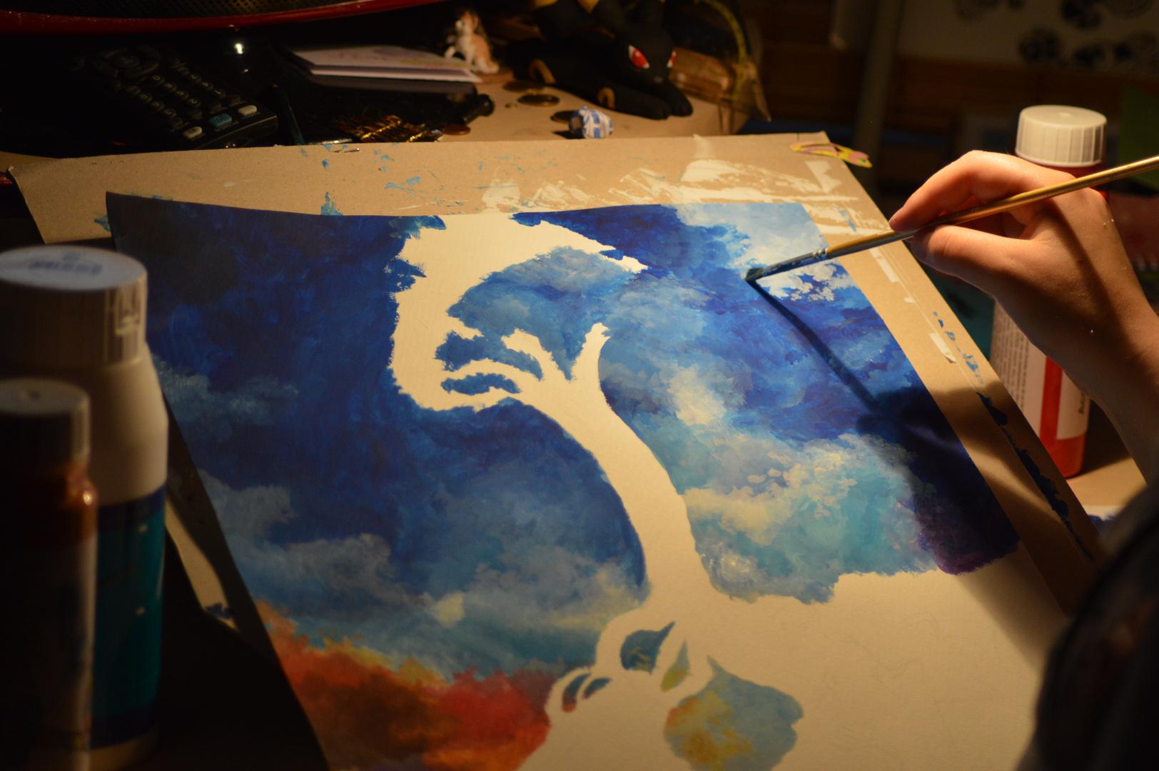 Kreative Beschäftigungen im Dunklen