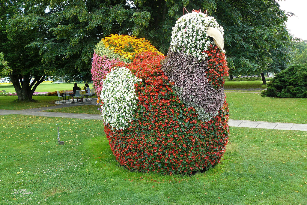 Kreative Pflanzgestaltung