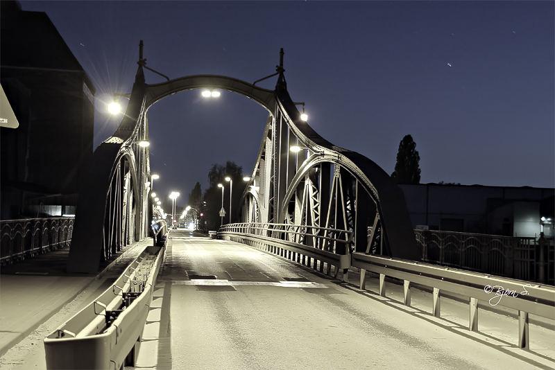 Krefeld Hafen Brücke