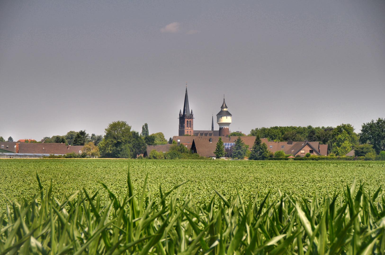"Krefeld-Hüls: ""Skyline"""