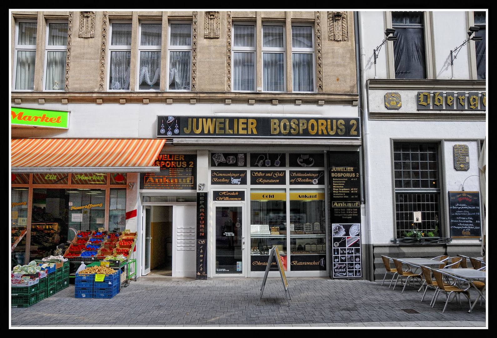 Krefeld Neusser Straße : Multi-Kulti