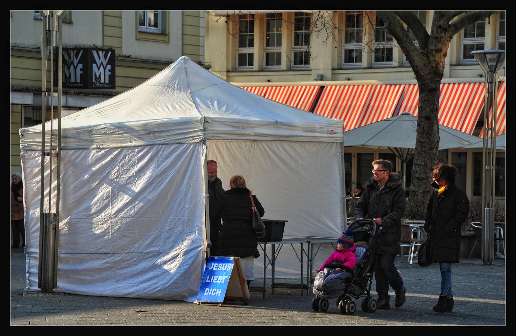 Krefeld : Straßenszene