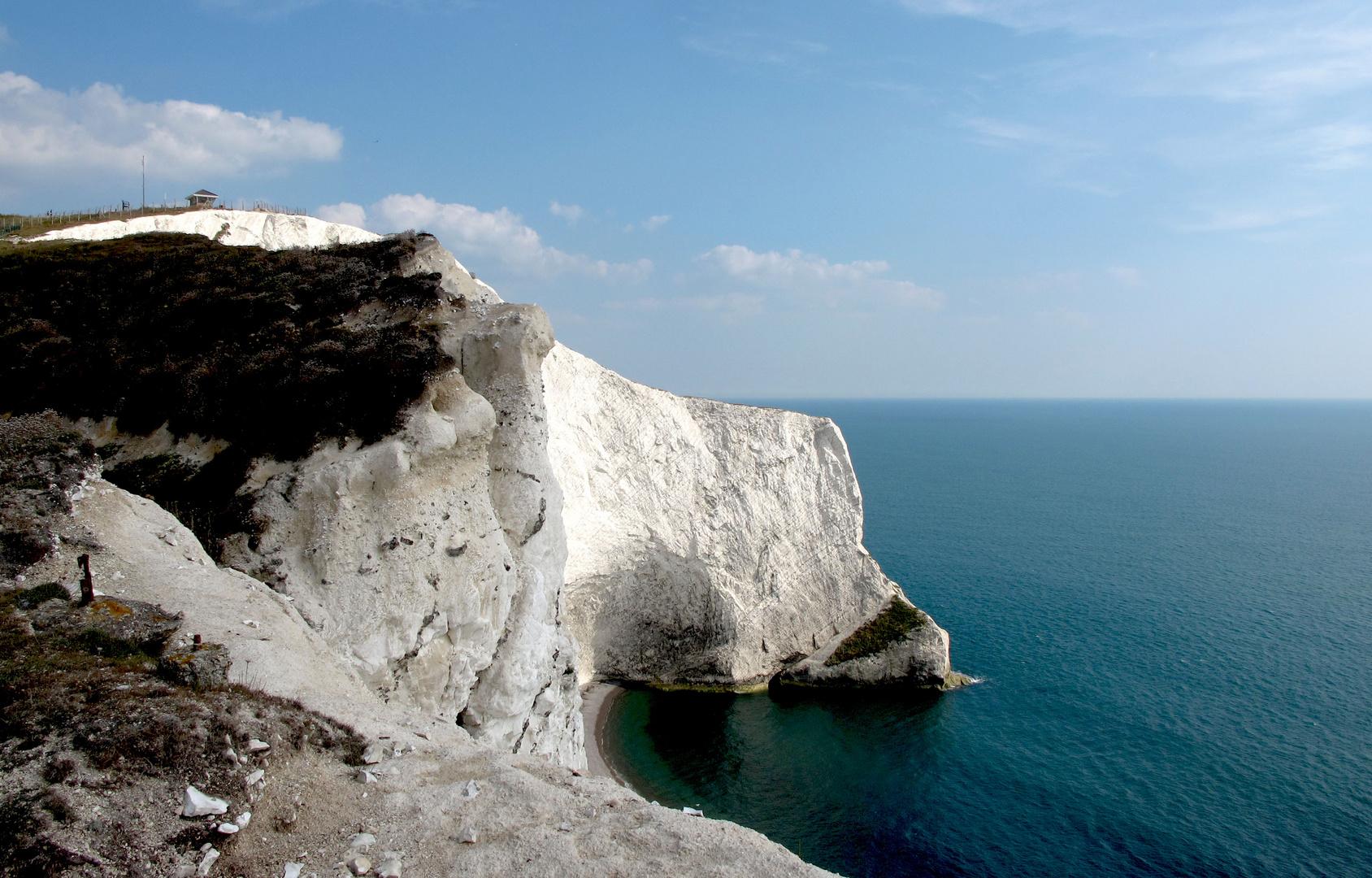 Kreidefelsen auf der Isle of Wight