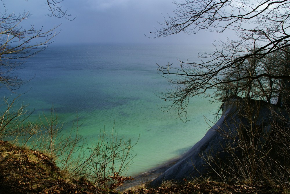 Kreideküste bei Rügen