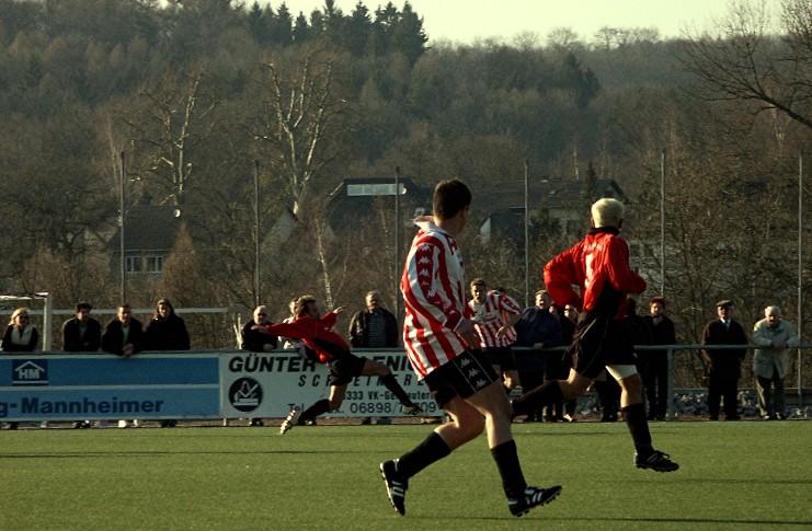 Kreisligaspiel: Altenkessel - Geislautern