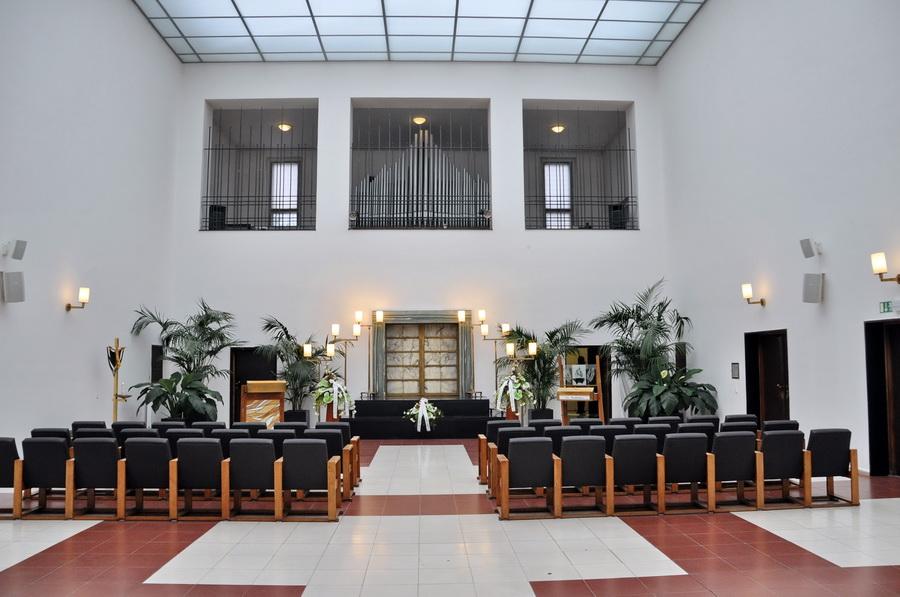 Krematorium Trauerhalle Brünn 2014