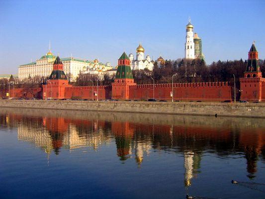 Kreml - das Wahrzeichen Moskaus