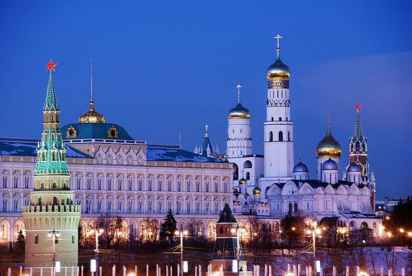 Kremlin at Night 2