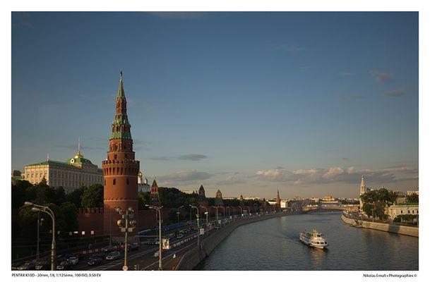 Kremlin et Moskova