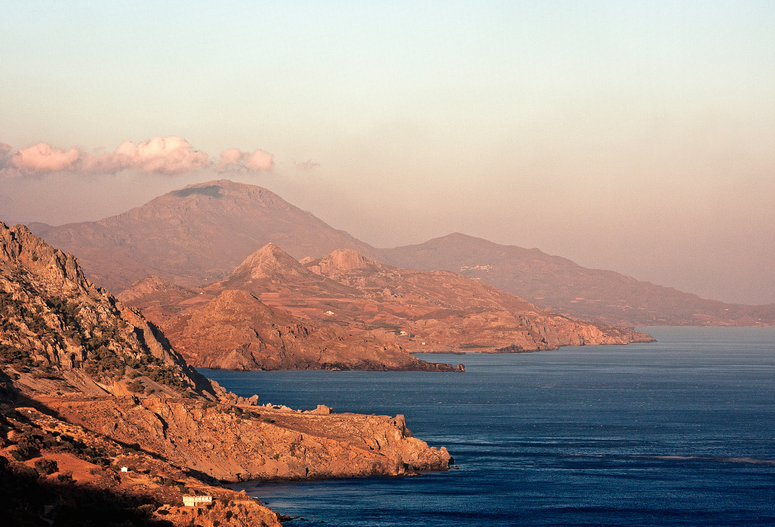 Kreta am frühen Abend